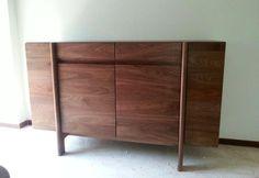 Japanese furniture. Y-Hope side board (solid american walnut)