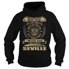 SEVILLE Last Name, Surname T-Shirt