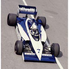 1986 Brabham BT55, Monaco GP, R. Patrese
