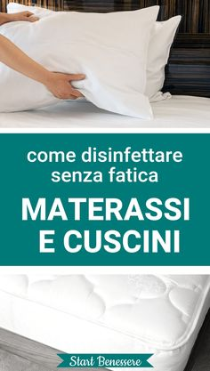 #casa #pulizie #startbenessere My Ocd, Natural Cleaning Products, My Books, Bed Pillows, Houses, Pillows