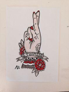 Old school idea for a tattoo I made