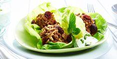 Rezept: Hackfleisch in Salatblättern