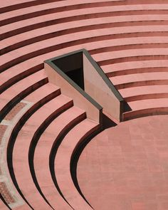 Gallaratese by Aldo Rossi and Carlo Aymonio beautifully photographed by . Modern Architecture House, Architecture Details, Geometry Architecture, Amphitheater Architecture, Richard Rogers, Aldo Rossi, Peter Zumthor, Interior Stairs, Richard Meier