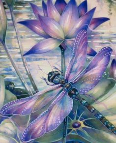 Dragonflies…How to Paint Them and What They Signify! A New Art Class By Jody Bergsma Dragonfly Painting, Dragonfly Tattoo Design, Dragonfly Art, Dragonfly Drawing, Watercolor Dragonfly Tattoo, Dragonfly Images, Graffiti Kunst, All Nature, Silk Painting