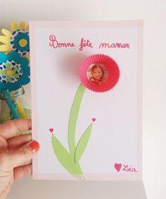 French Mother's Day Card Idea | pour la fˆête des mères bricolage