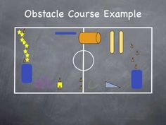 Physical Education Games - Obstacle Courses - YouTube