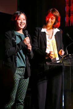 Szu-Wen Wang,Lauréate orange design, Delphine Ernotte Cunci, Orange France