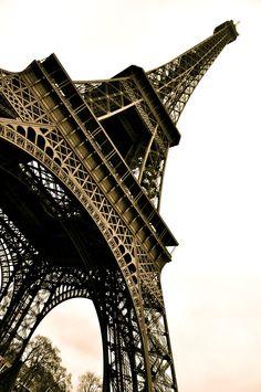 eiffel tower. paris, france. december 2011