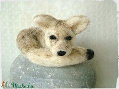 Fennec Fox / Sivatagi róka (Blackata) - Meska.hu Fennec Fox, Techno, Corgi, Animals, Corgis, Animales, Animaux, Animal, Animais