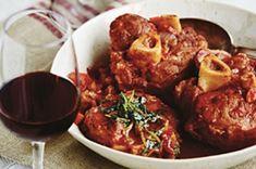 Recette : Osso buco à la Mijoteuse. Diner Recipes, Pork Recipes, Paleo Recipes, Crockpot Recipes, Great Recipes, Favorite Recipes, Osso Bucco Porc, Pork Osso Bucco Recipe, Risotto Milanese