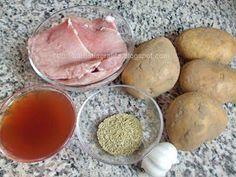 Muschi felii cu cartofi la cuptor Ingrediente Kefir, Cooking, Recipes, Pork, Kitchen, Recipies, Ripped Recipes, Brewing, Cuisine