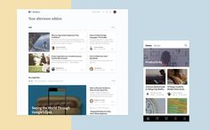 Today, we're excited to share a project we've been working on these last few months, our new Medium homepage and app home screen, available…