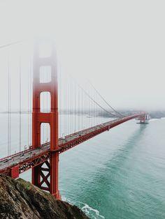 San Francisco Feelings - Golden Gate Bridge // Grady