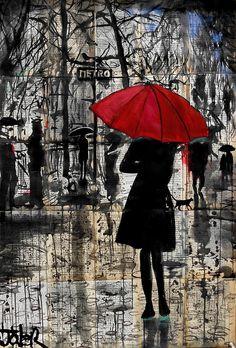 « metro » par Loui Jover
