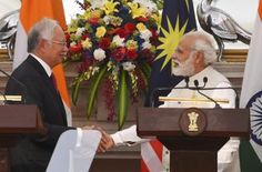 Modi: In message to China, India-Malaysia call for respect of navigation laws | India News - Times of India