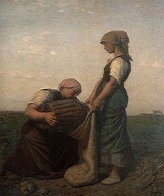 Jules Breton - Récolte de pommes de terre