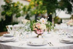 Flowers by Bows and Arrows - D Weddings | Luciana Mazao & Jose Velez