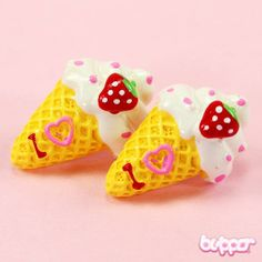 Ice Cream Earrings - Style 7