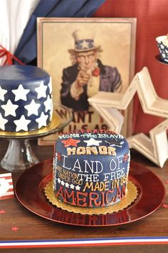 4th of July cake #Independence_Day #cake #4th
