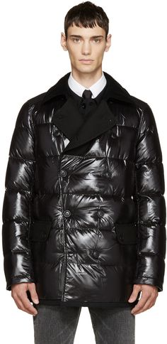 Black Matte Down Jacket | Products Bomber jackets and Mens products