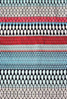 Hope Fabric. Kaleidoscope Collection. Silk, Polyester and Lycra. Kaleidoscope Collection. Margo Selby. Textile Design