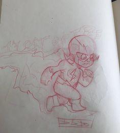 Mini flash #doodle #sketch #drawn #dessins #dibujo #raven #characterdesign #characters#dcfanart #cartoon #digitalart #cartoonstyle #comics #sketchbook#DGDODRAW #disegno #dccomics #digital #drawings#flash