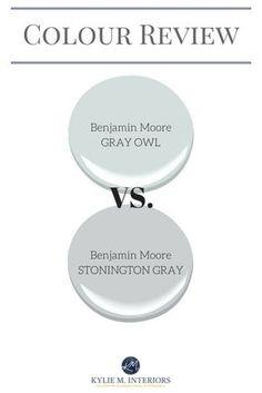 Favorite shades of gray coventry gray stonington gray for Benjamin moore paint reviews