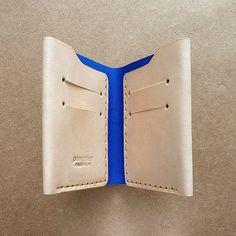 Handmade Wallet  unique design, exclusive cuts, mens women minimalist wallet by PrimObject $55.00