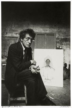 Robert Frank, Alberto Giacometti, Paris, 1962 on ArtStack Alberto Giacometti, History Of Photography, Documentary Photography, Book Photography, Photomontage, Robert Frank Photography, Photo Portrait, Robert Doisneau, Famous Photographers