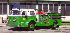1968 American LaFrance Classic pumper...  You don't see THAT every day.