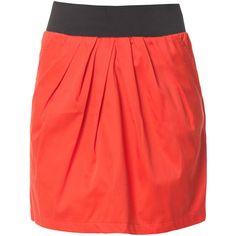 Lilu Short Skirt ❤ liked on Polyvore
