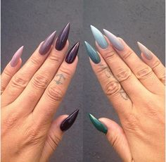In seek out some nail designs and ideas for your nails? Here's our list of 12 must-try coffin acrylic nails for trendy women. Rose Gold Nails, Matte Nails, Stiletto Nails, Coffin Nails, Glitter Nails, Uñas Kylie Jenner, Ongles Kylie Jenner, Long Acrylic Nails, Long Nails