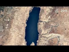 Dead Sea, Israel and Jordan israel dead sea Description Earth Timelapse is a global, zoomable time-lapse video of the entire planet, from 1984 to now. Dead Sea Israel, Jordans, Mud, Youtube, Youtube Movies