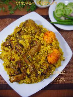 Murgir Bhuna Khichuri/Chicken Khichuri | Zuranaz Recipe
