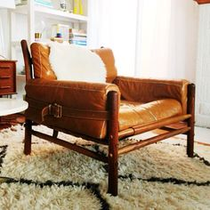 Ink361 The Instagram Web Interface Chair And Ottoman Leather