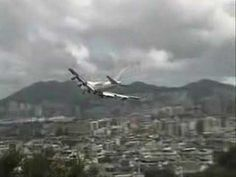 Hong Kong Kai Tak Airport - Awesome footage and background music