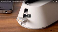 #ProductiveShapeLife - 5 Desktop Gadgets To Improve Productivity