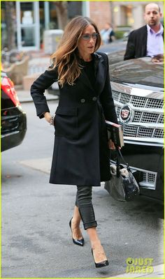 jan 2013 - coat with cuffed pants