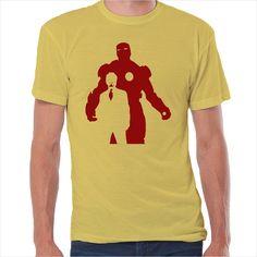 Camiseta superheroes Iron Man