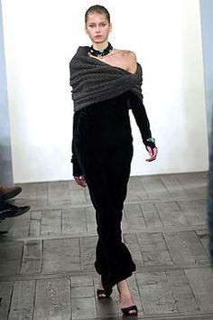 Ralph Lauren Fall 2004 Ready-to-Wear Fashion Show - Ralph Lauren, Hana Soukupova