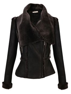 SHEARLING JACKET for next winter thanks!