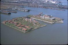 New York Architecture Images-ELLIS ISLAND NATIONAL MONUMENT vintage NYC photos