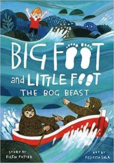 Hugo is a Sasquatch. Boone is a human. They're best friends who are always ready for adventure! It's Bimbling Day, when young Sasquatches get to explore the North Woods on their own! Hugo and Boone are ready to earn their Bimbling Badges. But snakes and sinkholes aren't the only things they have to look out for: legend says there's a monster in the swamp.