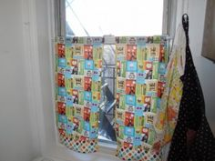 how to make cafe curtains (and how to make it work when you screw them up) persephonemagazine.com