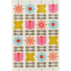 Novogratz By Momeni Flower Child Hand Tufted Rectangular Indoor Rugs, Color: Ivory - JCPenney Yellow Wildflowers, Synthetic Rugs, Aqua Area Rug, Rectangular Rugs, Hand Tufted Rugs, Modern Area Rugs, Kids Hands, Indoor Rugs, Rug Making