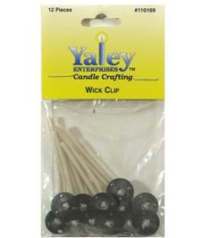 Yaley 2'' Candle Wired Wicks-12PK/15mm, , hi-res