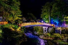 Japan Nikko Bridge Nightshot photography