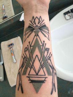 #geometric #arm #tattoo