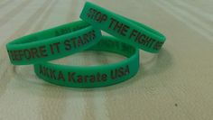 anti bullying wristbands