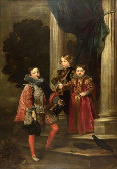 Antoni van Dyck - Balbi's childrens